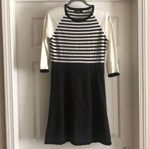 Nine West stripped sweater dress size XS